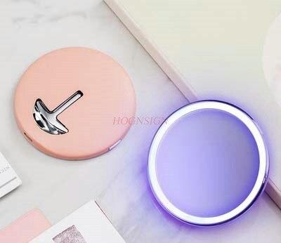 espelho de maquiagem led lampada fluorescente menina