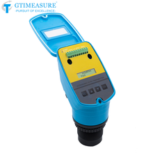 Ultrasonic Liquid Level Meter Water Level And Height Depth Measurement 4-20mA Signal Output Sensor Transmitter RS485 Alarm 0-5V