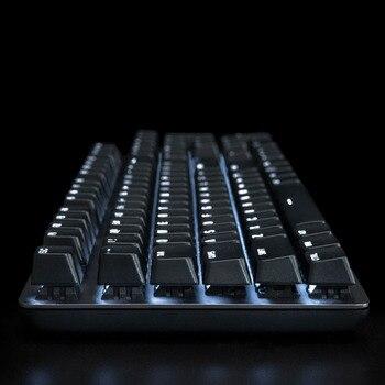Xiaomi MIIIW 600K Mechanical Keyboard Gaming Keyboard Backlit 104Key Kailh Red Switch USB Wired Keyboard Mouse & Pad Set 5