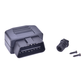 Conector Obd2 16 Pin Male Type 16 Pin Sockets Connector Plug with Shell and Screw Auto Car Connector Cable Wire image
