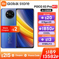Глобальная версия POCO X3 Pro 6GB 128GB Смартфон Snapdragon 860 33W NFC Quad AI камера 120Hz DotDisplay 5160mAh