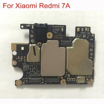 Original Unlock Mainboard For Xiaomi Redmi 7A 7 A 2GB RAM 32GB ROM Motherboard Circuits Card Fee Main Board Phone Accessory