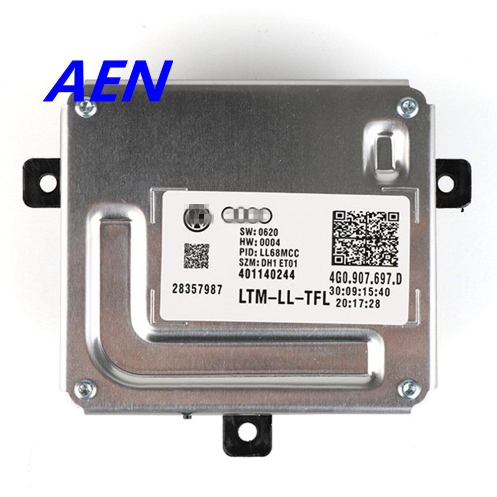 Original For Yeti 5L Audi Q3 Q5 A4 A5 A6 S6 TT LED Driver Module Xenon Headlights Follower Controller LED Driver 4G0.907.697.D