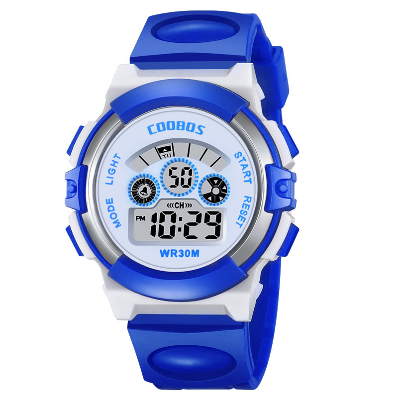 Teen Girls Watches Kids Colorful Flash Lights Waterproof Digital Watch LED Baby Silicone Wrist Watch For Boys Sport Woman Clock
