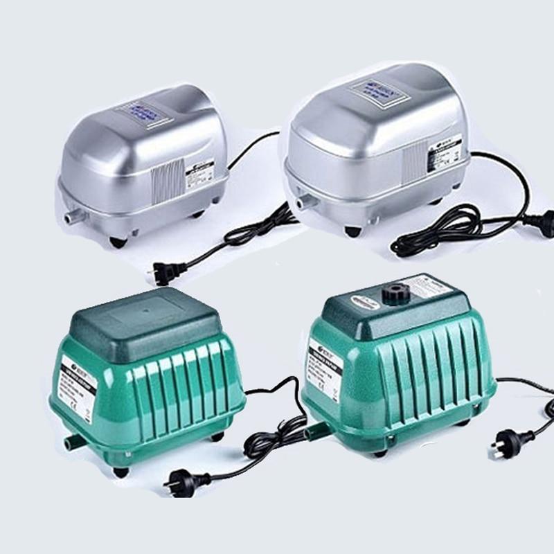 Resun pompe à air 17W 35W 60W 100W réservoir à oxygène pompe à oxygène étang à poissons machine à oxygène ultra-silencieuse haute puissance pompe à oxygène avec shunt