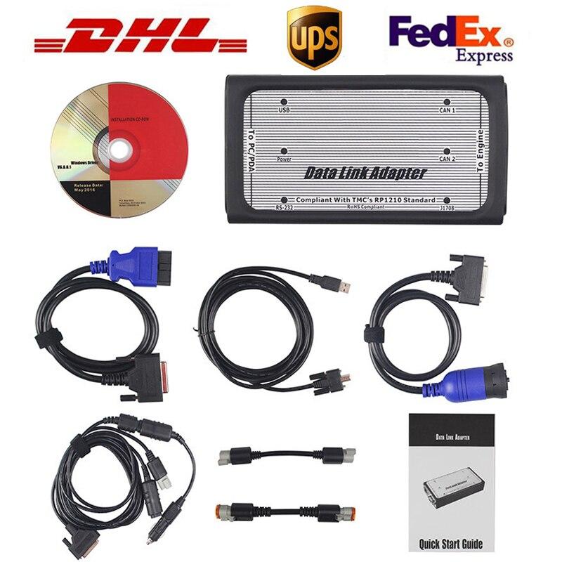 Adaptador de conexión de datos para Cummins INLINE 6, diagnóstico v7.62 para Cummins, herramienta de escáner diésel de camiones pesados, envío gratuito por DHL Nuevo adaptador Bluetooth V1.5 Elm327 Obd2 Elm 327 V 1,5, escáner de diagnóstico para automóvil para Android Elm-327 Obd 2 ii, herramienta de diagnóstico para coche