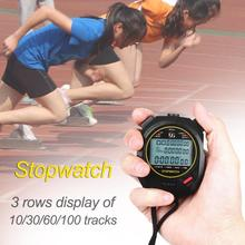Timer Stop-Watch Chronograph Multifuction Outdoor Sports Handheld Professional Running