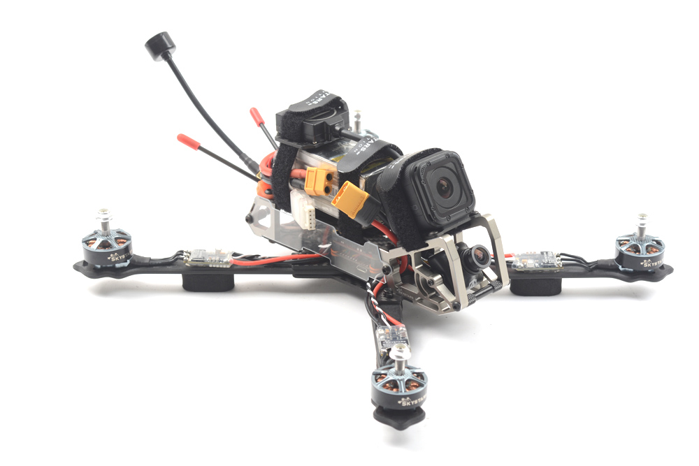 Skystars G730L W/GPS– BNF 300mm Long Range  F4 OSD 2-6S FPV Racing Drone PNP BNF W/ RunCam Swift 2 Camera W/INAV