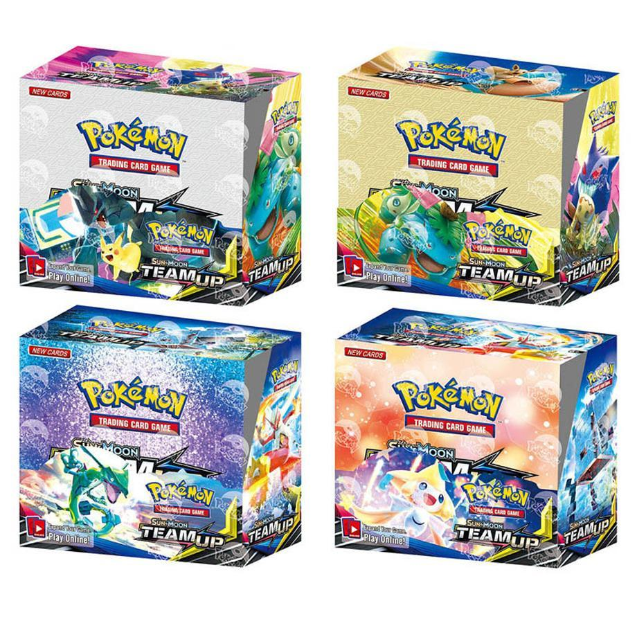 324 Pokémon TCG Cards: Sun And Moon Unified Mind Game Card In A Box Of 36 Bags Of Toys image