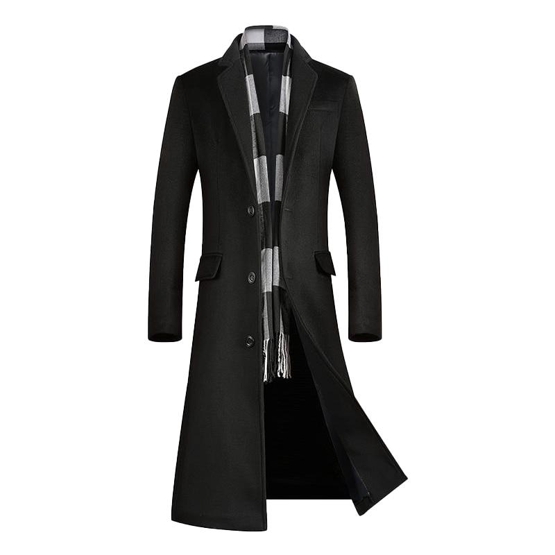Winter men's wear, high-quality cashmere coat, long coat, high-quality wool coat, cashmere jacket for men, wool coat for men,