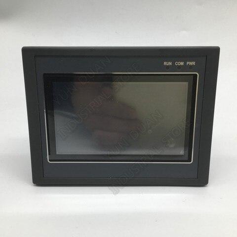 Painel de Toque Tudo-em-um Integrado Cpu Controlador Polegada Dc24v Transistor Saída Digital 12di Rs232 Rs485 Fx2n 7 Hmi Plc Mod. 133981