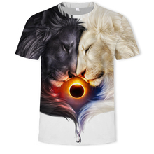 2019 Newest 3D Print Animal Cool Funny T-Shirt Men Short Sleeve Summer Tops T Shirt Tshirt Male Fashion T-shirt 5XL