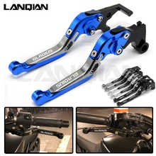 For SUZUKI SFV650 GLADIUS Motorcycle Adjustable Folding Brake Clutch Levers SFV 650 GLADIUS 2009-2015 2013 2014 CNC Accessoires цена