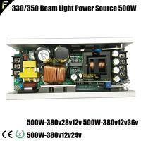 10r/r10 280w ponto feixe movendo a cabeça luz placa de alimentação 500w 380v28v12v movente placa de alimentação de luz JY-500-380 + 28 + 12