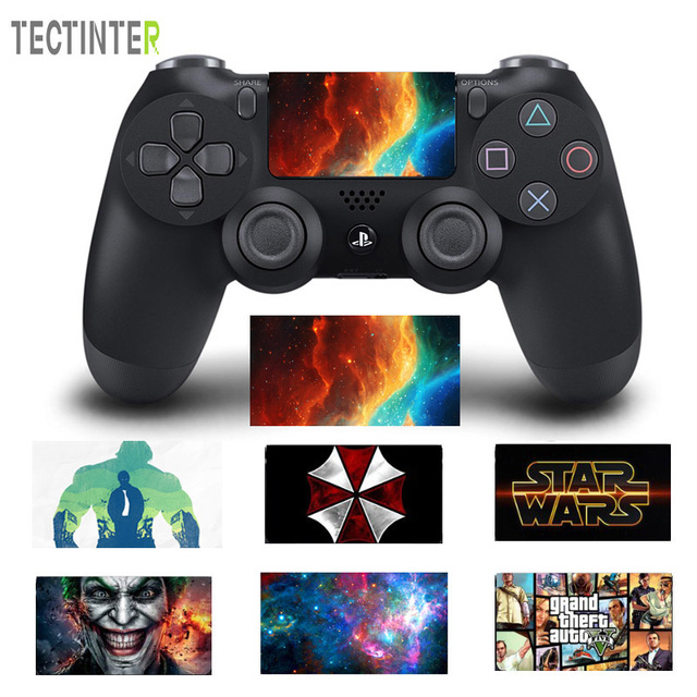 Joker Design Touch Pad PVC Vinyl Skin Cover For PS4 Controller For Playstation Dualshock 4 Pro Slim Decal Sticker