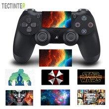 ג וקר עיצוב מגע Pad PVC ויניל עור כיסוי עבור PS4 בקר לפלייסטיישן Dualshock 4 פרו רזה מדבקות מדבקה