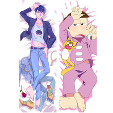 Anime Mr Osomatsu san Kun Dakimakura Hugging Body Pillow Case Matsuno Ichimatsu Six Brothers Character Pillow