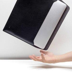 Image 5 - Xiaomi Laptop Liner Bijgewerkte Versie Pu Materiaal 12.5 Inch 13.3 Inch Voeringzak Notebook Voor Macbook Air Draagbare En Dunne
