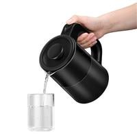 Midea 800W Fast Boiling Electric Kettle Stainless Steel 600ML Water Boiler 110V 220V Desktop Water Heater|Electric Kettles| |  -