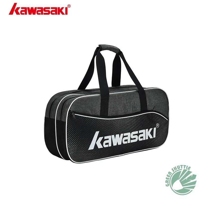 Genuine 2020 Kawasaki Badminton Bag KBB-8655 (6 PCS) Multifunction Badminton Racket Bag Tennis Bag Large Capacity Sports Bag