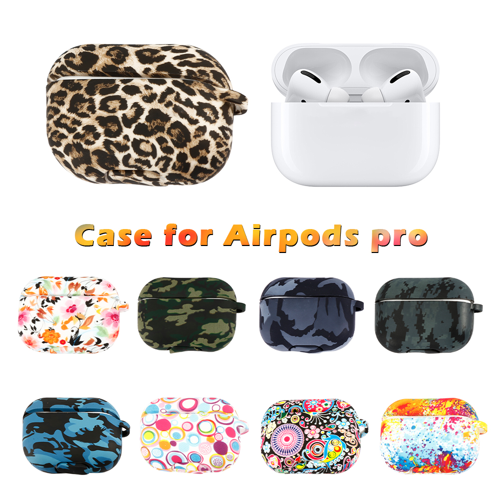 For Airpods Pro Case Silicone 360 Full Anti Fall Earbuds