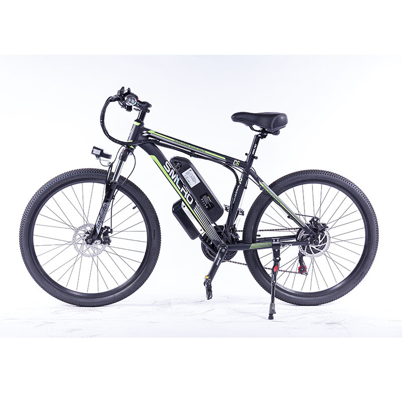 """C6 F 26""""Electric Bike with Removable 48V Lithium-Ion Battery Electric Mountain Bike Adult 350W Powerful Motor Fast Battery 1"""