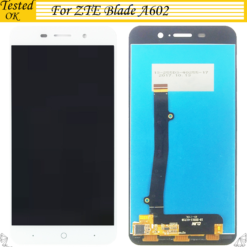 Pour ZTE Blade A602 LCD affichage et écran tactile numériseur assemblée remplacement pour ZTE A 602 accessoires mobiles