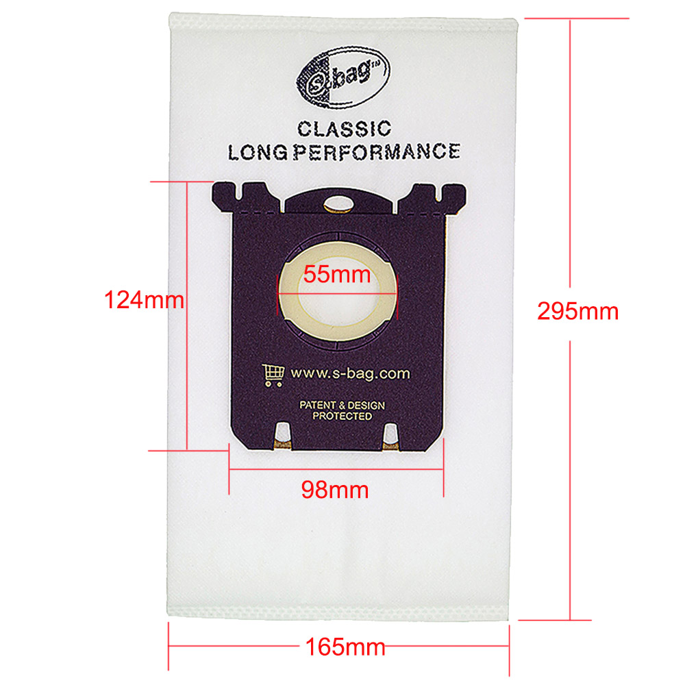 Image 5 - 10PCS Vacuum Cleaner Dust Bags for s bag and 2PCS H12 Hepa filter+4PCS Motor cotton filter fit for Philips Electrolux Cleaner-in Vacuum Cleaner Parts from Home Appliances