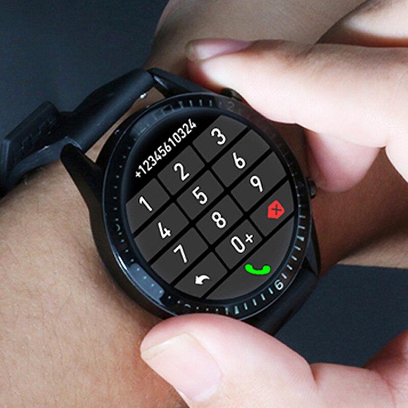 Relogio Inteligente ساعة ذكية الرجال 2020 بلوتوث دعوة IP68 Smartwatch أندرويد ساعة ذكية للرجال هواوي أندرويد أبل آيفون|الساعات الذكية|   - AliExpress