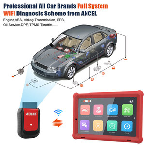 Image 5 - Ancel X5 Full system OBD2 Scanner Car Diagnostic Tool Wifi/Bluetooth Read Airbag ABS TPMS OBD2 Auto Scanner EPB IMMO SRS Reset