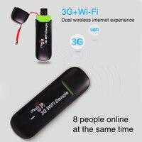 אלחוטי Dongle נייד כל בית Wifi נתב יציב מודם עמיד גדול טווח רשת כרטיס מיני USB גרסת 3G מעשי|3G מודמים|מחשב ומשרד -