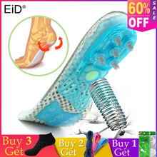 Buy EVA Spring silicone orthopedic shoes sole Insoles flat feet orthotic insoles arch support inserts Plantar Fasciitis,foot care directly from merchant!
