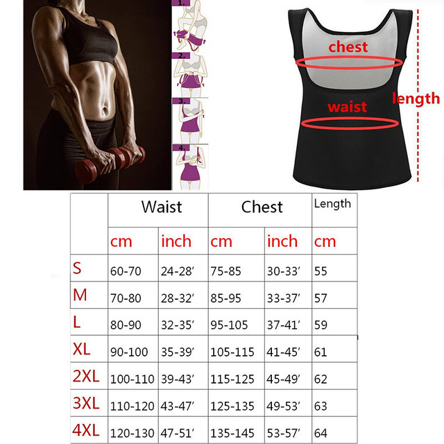 Women Silver Coating Thermo shirt Sweat Sauna Tank Tops Body Shapers Waist Trainer Slimming Vest Fitness Shapewear modeling belt 4
