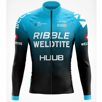 HUUB Winter jersey cycling set Men bike suit Winter wool Maillot bicycle thermal fleece ciclismo Mtb jacket pro team cycling kit wosawe cycling jersey sets winter thermal sports pro jersey triatlon bike bicycle clothing jackets pants men women