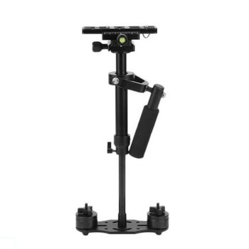S40 40cm Aluminum Alloy Handheld Video Stabilizer For Steadycam Steadicam Stabilizer For Canon Nikon Sony DSLR Camera fotga s 750 pro handheld steadycam video stabilizer for camera camcorder dv dslr