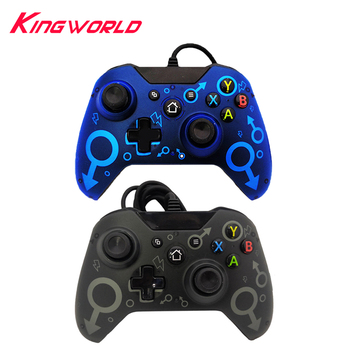 10pcs USB Wired Controller For Microsoft Xbox One Game Console Gamepad Joystick Computer Support Windows PC