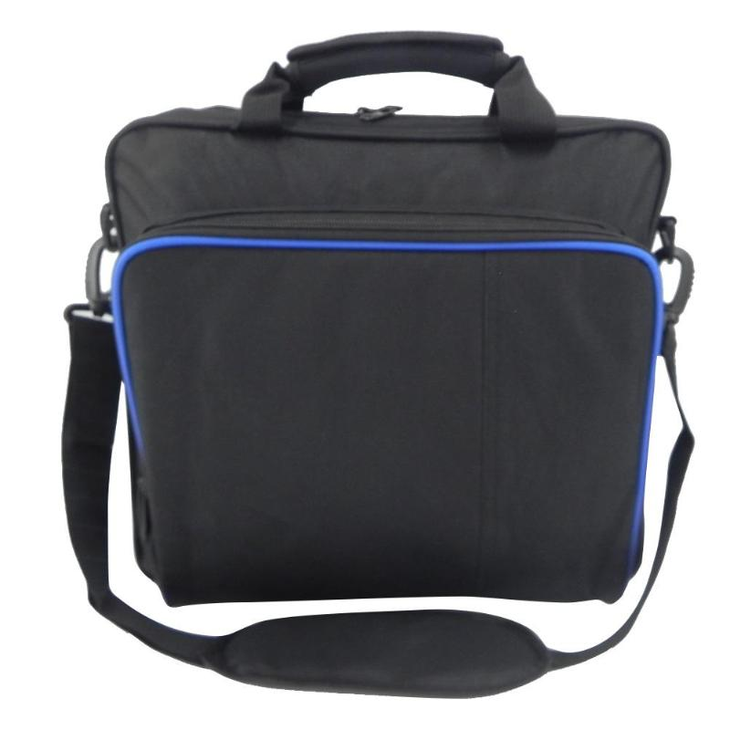 For PlayStation 4 <font><b>PS4</b></font> Slim Shoulder Bag Carrying <font><b>Case</b></font> Handbag Game <font><b>Console</b></font> rotective Shoulder High quality image