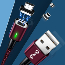 Original 1M 3A USB Magnetic Charging Cable for iPhone Type c Micro 3 in 1 X XR 8 7 6