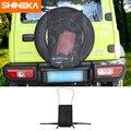 SHINEKA Verstauen Aufräumen Für Suzuki Jimny 2019 + Auto Hinten Reserverad Müll Lagerung Tasche Für Suzuki Jimny 2019-2020 zubehör