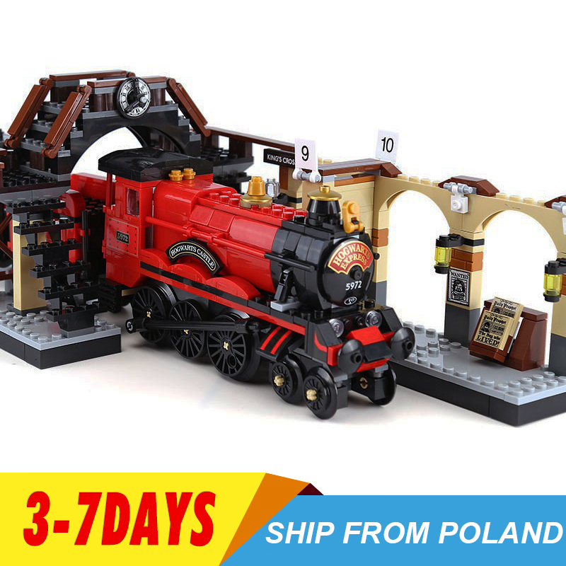 16055 Harri Movie Series Express Train Compatible 75955 Building Blocks Bricks Model Educational Toy Gifts