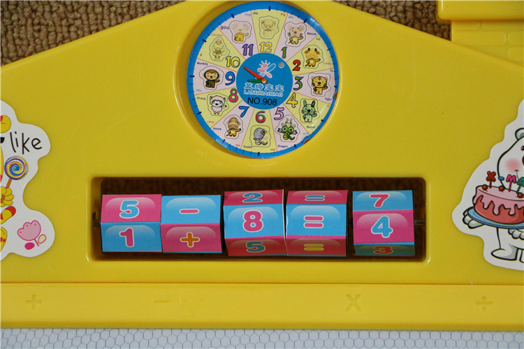 Color Magnetic White-board Children'S Educational Science Toy Tablet Drawing Board CHILDREN'S Children Graffiti Gift