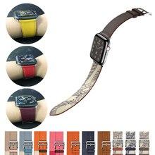 Strap for Apple watch band 44mm 40mm 42mm 38mm Single tour Leather correa bracelet wrist watchband Iwatch series 5/4/3/2/1 eimo leather loop band for apple watch series 4 44mm 40mm iwatch 4 3 2 1 42mm 38mm double tour wrist strap bracelet watchband