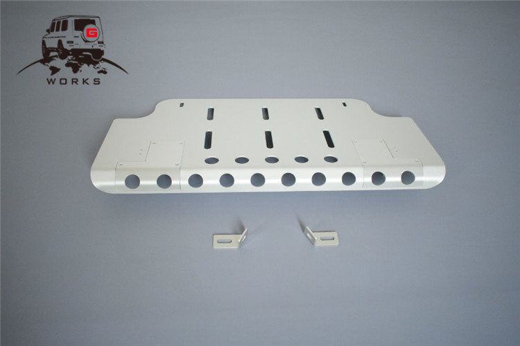 front skid plate (24)
