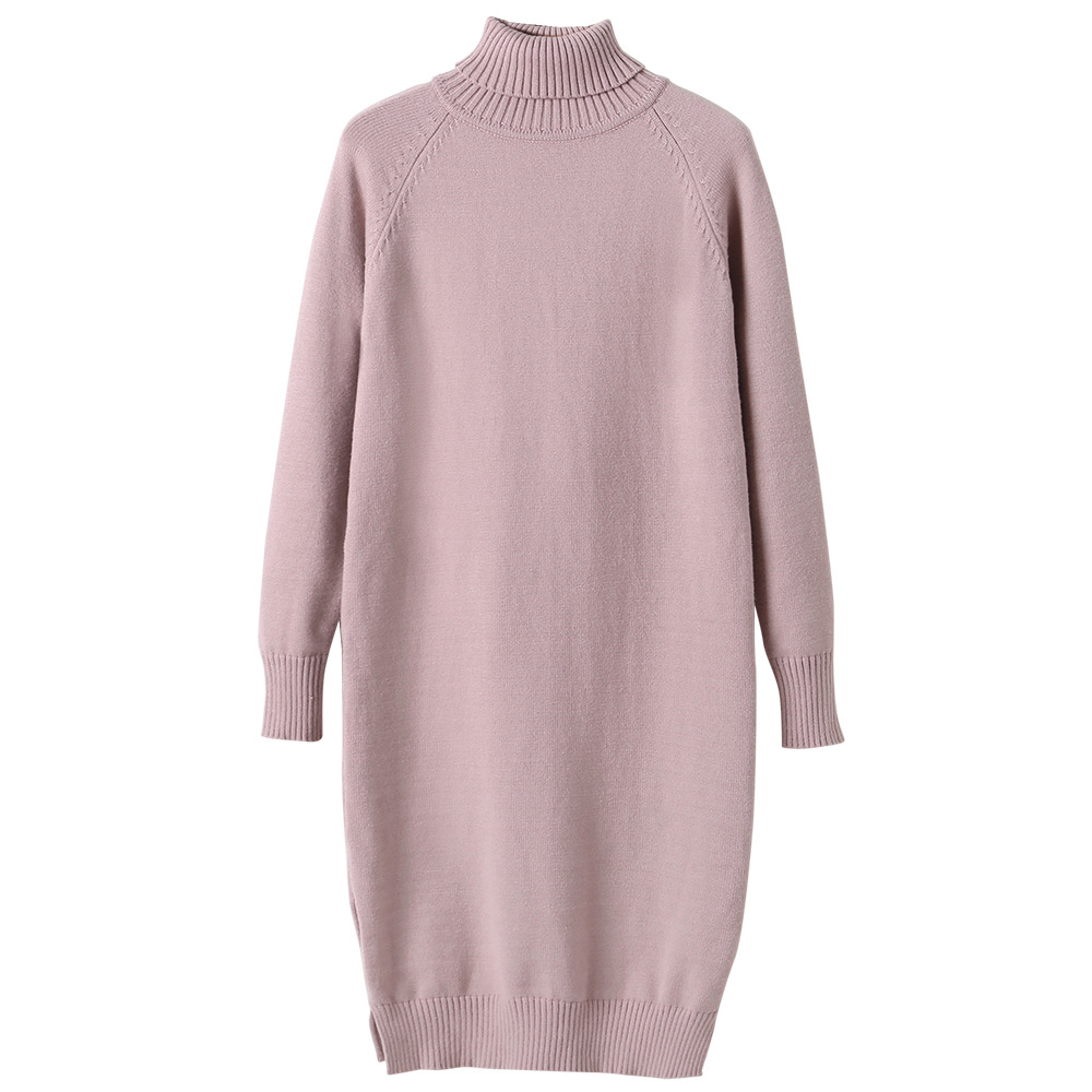Girls Dress 8 To 9 Years 2020 Winter Clothes For Teenage Girls Sweater Dress Long Sleeve Solid Warm Kids Clothes Girls 7 To 8 12 5