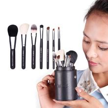 ZOREYA New Makeup Brush 7 PCS/Set 4 Colors Makeup Brushes Set Makeup Brush Hot Portable Makeup Brush Set Eye Shadow Lip Brush stylish 18 pcs portable fiber makeup brushes set with pu brush bag