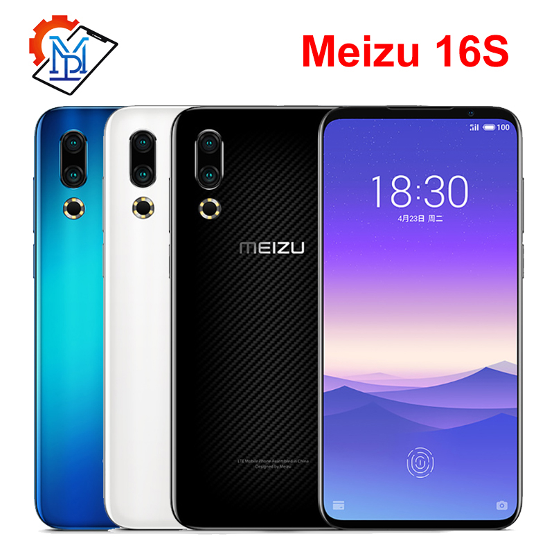 Original Meizu 16s Mobile Phone 6G/8G  RAM  128GB ROM Snapdragon 855 6.15