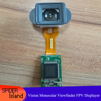New DIY Night Vision Monocular Viewfinder FPV Displayer Miniature Full Color Display Thermal Imaging Display