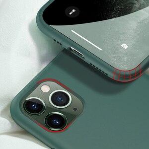 Image 3 - IPhone 11 Pro Max 11 Pro 용 실리콘 케이스 iPhone 7 8 Plus X Xr Xs Max 용 고품질 공식 오리지널 케이스