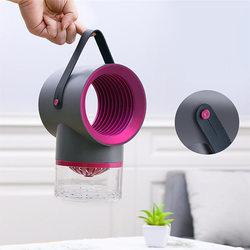 Lampa LED na komary lampy UV lampka nocna z USB kryty elektryczny środek odstraszający komary zabójca łapka na owady pułapka na komary latarnia lampa U3