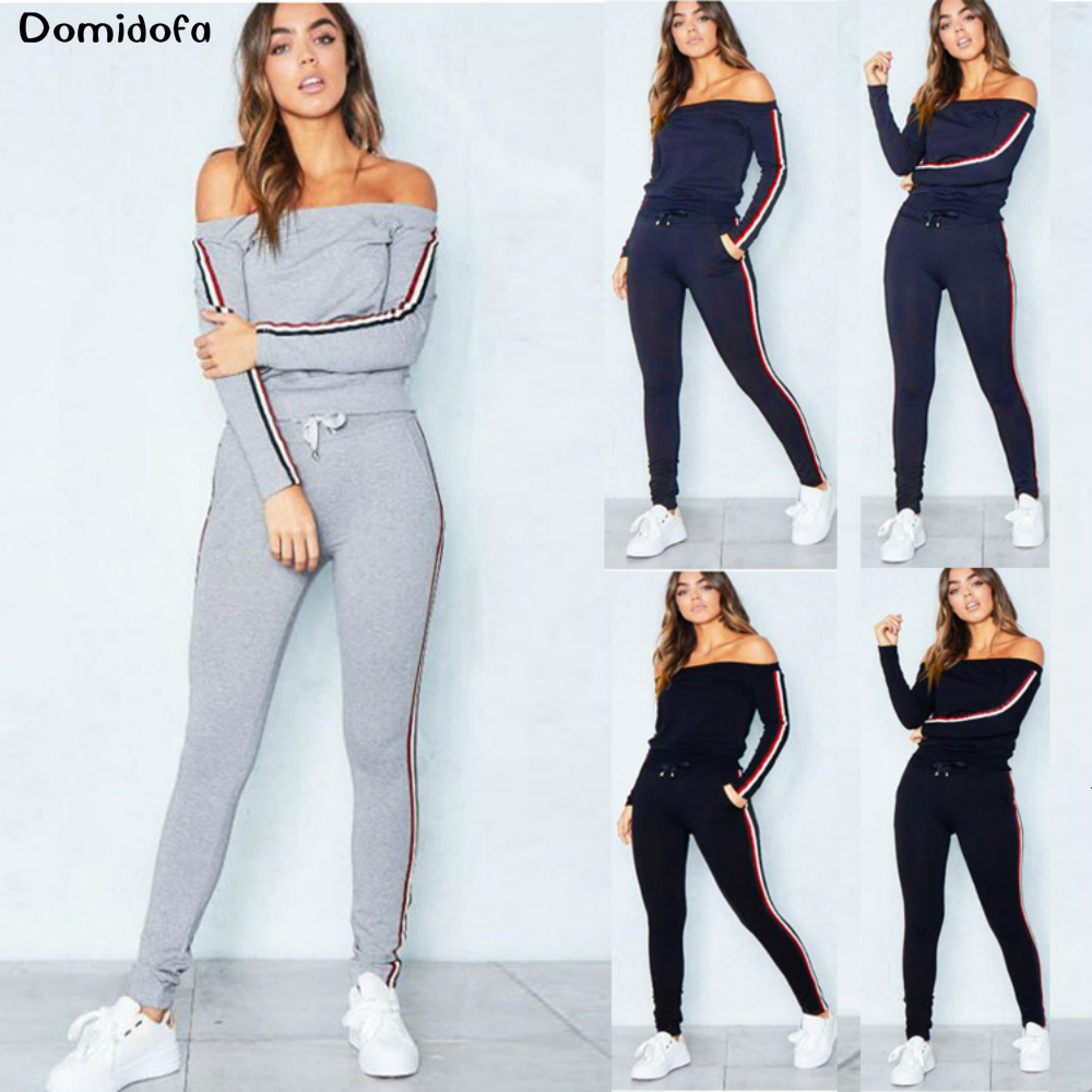 New autumn and winter womens sportswear exercise fitness gym wear workout clothes jogging suits for sport suit women